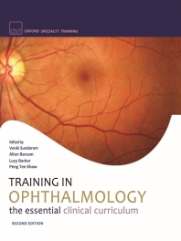 Training in Ophthalmology