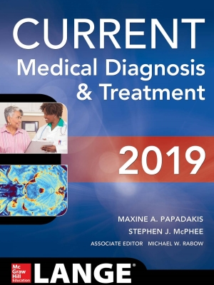 CURRENT Medical Diagnosis & Treatment, 2019 (2-Volume)