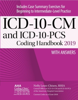 ICD-10-CM AND ICD-10-PCS Coding Handbook with Answers, 2019 (3-volume)