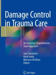 Damage Control  in Trauma Care, 2018