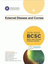 American Academy of Ophthalmology (BCSC 8), External Disease and Cornea, 2019-2020