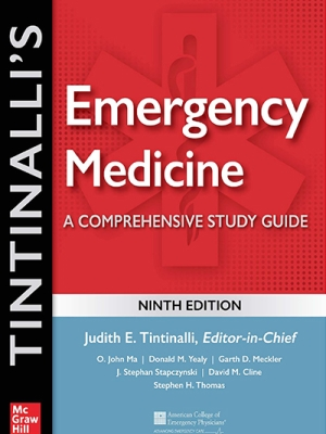 Tintinalli's Emergency Medicine: A Comprehensive Study Guide, 9th  2020