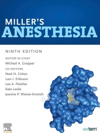 Miller's Anesthesia,9th Edition 2020